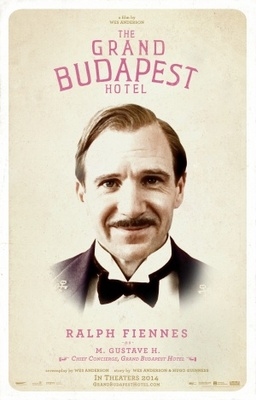 The Grand Budapest Hotel movie poster (2014) poster MOV_51e87033