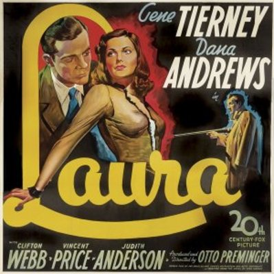 Laura movie poster (1944) poster MOV_51fa2609