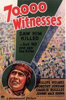 70,000 Witnesses movie poster (1932) picture MOV_520668fe