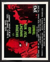 Children Shouldn't Play with Dead Things movie poster (1972) picture MOV_520897f2