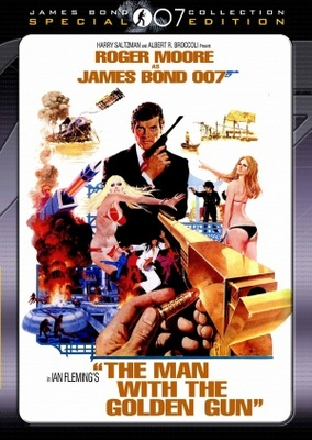 The Man With The Golden Gun movie poster (1974) poster MOV_520c484d