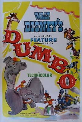 Dumbo movie poster (1941) poster MOV_5218c884