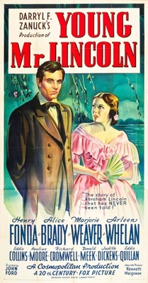 Young Mr. Lincoln movie poster (1939) poster MOV_5243eb6b