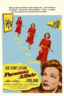 Personal Affair movie poster (1953) poster MOV_524e1782