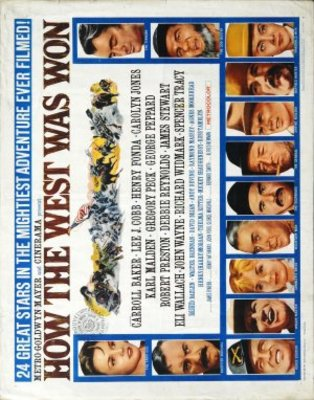 How the West Was Won movie poster (1962) poster MOV_525b4a13