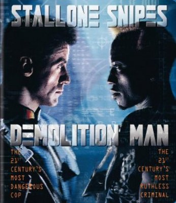 Demolition Man movie poster (1993) poster MOV_52681a3b