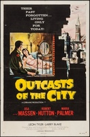 Outcasts of the City movie poster (1958) picture MOV_526e80ba