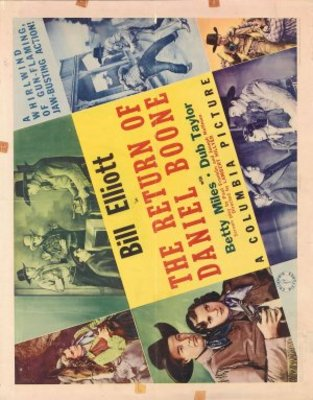 The Return of Daniel Boone movie poster (1941) poster MOV_52756fea