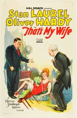 That's My Wife movie poster (1929) poster MOV_52768c19