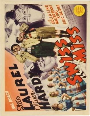 Swiss Miss movie poster (1938) poster MOV_528dc75d