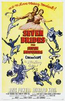 Seven Brides for Seven Brothers movie poster (1954) picture MOV_52909305
