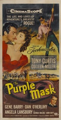 The Purple Mask movie poster (1955) poster MOV_5296b2a8