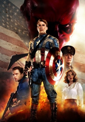 Captain America: The First Avenger movie poster (2011) poster MOV_52a206f8
