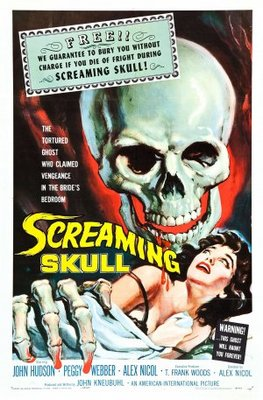 The Screaming Skull movie poster (1958) poster MOV_52d5f86a
