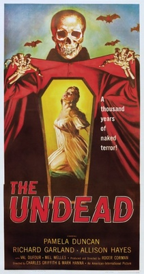 The Undead movie poster (1957) poster MOV_52d849c3