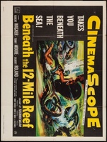 Beneath the 12-Mile Reef movie poster (1953) picture MOV_52ef9a1f