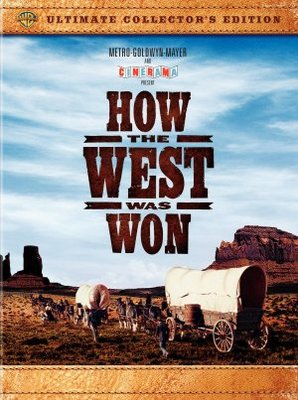 How the West Was Won movie poster (1962) poster MOV_530ca053