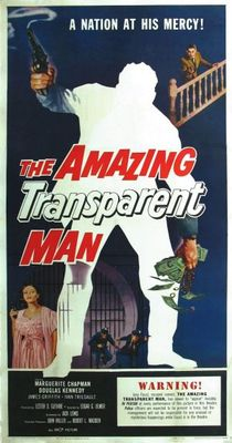 The Amazing Transparent Man movie poster (1960) poster MOV_531108ed