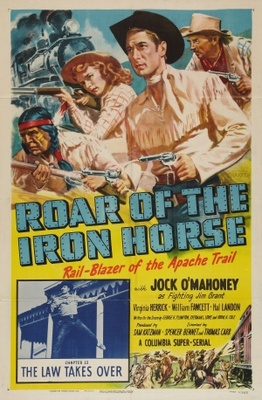Roar of the Iron Horse, Rail-Blazer of the Apache Trail movie poster (1951) poster MOV_531eff26