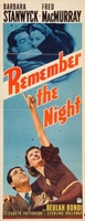 Remember the Night movie poster (1940) picture MOV_53334ed6