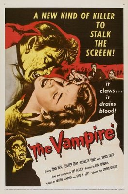 The Vampire movie poster (1957) poster MOV_533ebff7