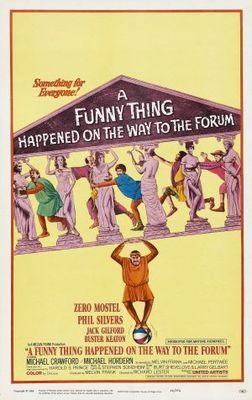 A Funny Thing Happened on the Way to the Forum movie poster (1966) poster MOV_534758c9