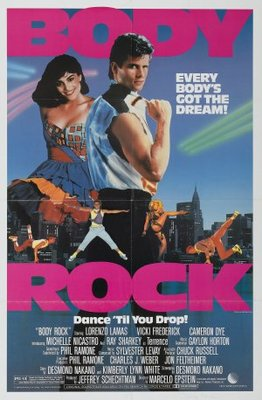 Body Rock movie poster (1984) poster MOV_53582cdc