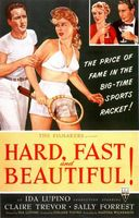 Hard, Fast and Beautiful movie poster (1951) picture MOV_5375bf9f