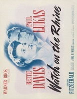 Watch on the Rhine movie poster (1943) picture MOV_538f4d02