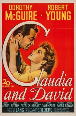 Claudia and David movie poster (1946) poster MOV_53923e36