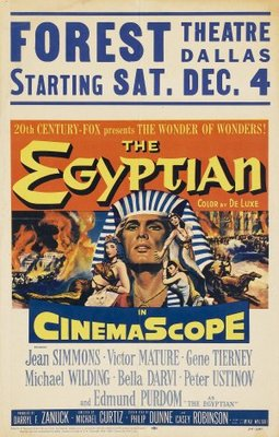 The Egyptian movie poster (1954) poster MOV_539eab82