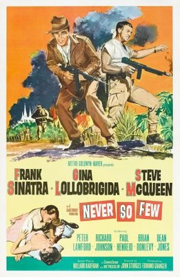 Never So Few movie poster (1959) poster MOV_53a3d107