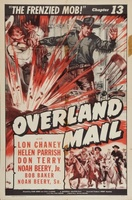 Overland Mail movie poster (1942) picture MOV_53a779cc