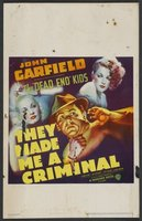 They Made Me a Criminal movie poster (1939) picture MOV_53ab6f05