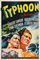 Typhoon movie poster (1940) picture MOV_53bf4817