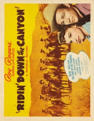 Ridin' Down the Canyon movie poster (1942) poster MOV_53c57abc