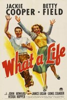 What a Life movie poster (1939) picture MOV_53d3c9d6