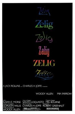 Zelig movie poster (1983) poster MOV_53d820a8