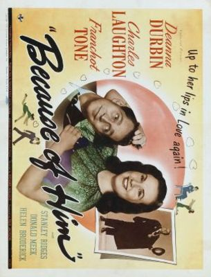 Because of Him movie poster (1946) poster MOV_53dc70a1