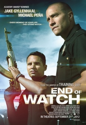 End of Watch movie poster (2012) poster MOV_53e36485