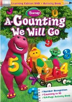 Barney: A-Counting We Will Go movie poster (2010) picture MOV_53e9a632