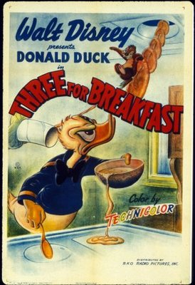 Three for Breakfast movie poster (1948) poster MOV_53ed2161