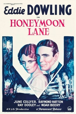 Honeymoon Lane movie poster (1931) poster MOV_53f98a45