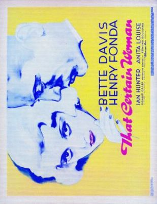 That Certain Woman movie poster (1937) poster MOV_53f9d1f2
