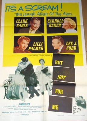 But Not for Me movie poster (1959) poster MOV_54035b09