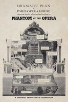 Phantom of the Opera movie poster (1943) picture MOV_5425ce8f