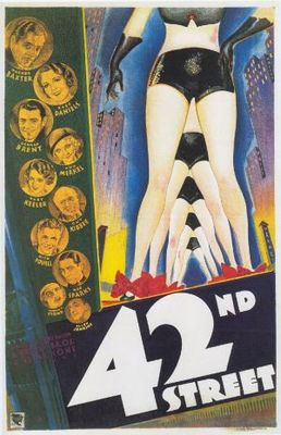 42nd Street movie poster (1933) poster MOV_543012f0