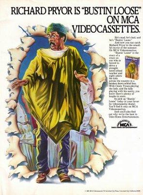 Bustin' Loose movie poster (1981) poster MOV_544e3e4b