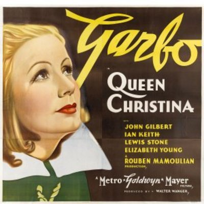 Queen Christina movie poster (1933) poster MOV_54573e0b