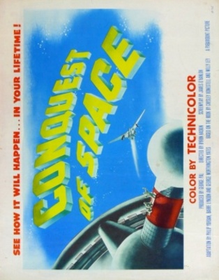 Conquest of Space movie poster (1955) poster MOV_5473e222